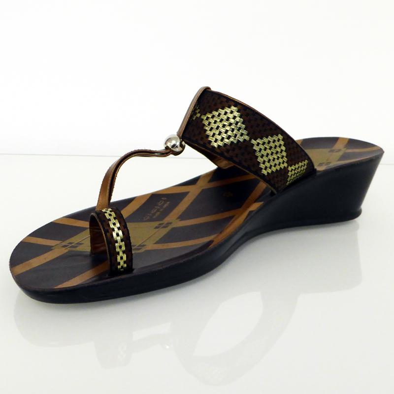 Fashion Sandale Mit Absatz Gr 36 40 Zehentrenner